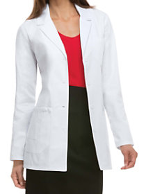 30 Inch Notched Lapel Lab Coat