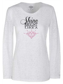 Shine Bright Underscrub Tee