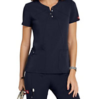 Dickies Xtreme Stretch Asymmetrical Scrub Tops