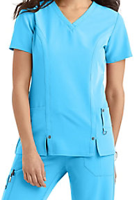 Dickies Xtreme Stretch V-neck Scrub Tops