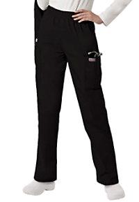 Scrubzone Elastic Waist Cargo Scrub Pants
