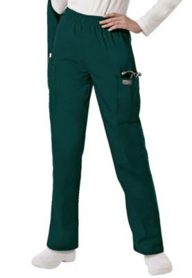 Elastic Waist Cargo Pocket Pants