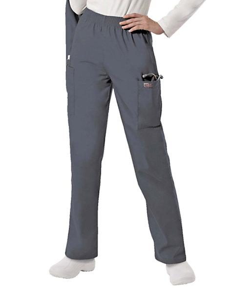 ee990177e43 Scrubzone Elastic Waist Cargo Scrub Pants | Scrubs & Beyond