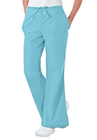 Landau Essentials Flare-leg Scrub Pants