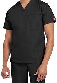 Dickies EDS Signature Unisex 1-pocket V-neck Scrub Tops