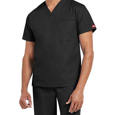 293b09e28d0 Dickies EDS Signature Unisex 1-pocket V-neck Scrub Tops | Uniform City