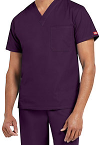 Dickies EDS Signature Unisex 1-pocket V-neck Scrub Tops