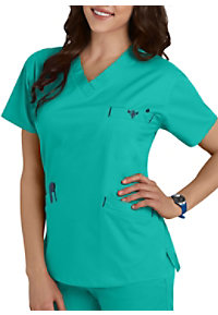 04ccf5a1c69 See Details item #8403 · Med Couture Signature Classic V-neck Scrub Tops