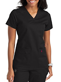 Strength 2 Pocket V-Neck Top