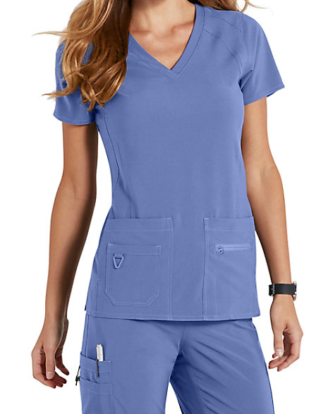 d70bb9d861b Med Couture Activate Refined scrub top. | Scrubs & Beyond