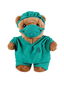Stuffed Dr Scrubz Bear