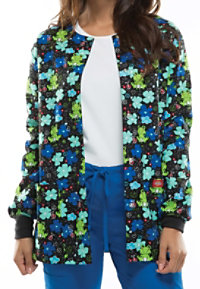 Dickies EDS Froggy Floral Print Scrub Jackets