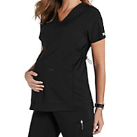 Med Couture Plus One Maternity V-neck Tops