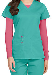 Med Couture MC2 Olivia V-neck Scrub Tops