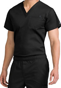Med Couture MC2 Men's One Pocket Scrub Tops