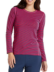 Long Sleeve Striped Underscrub Tee