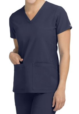 Med Couture Activate Power V-neck Scrub Tops