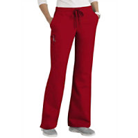 Scrubzone Red Women's Drawstring Pants