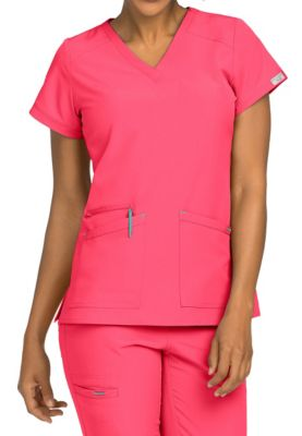 Med Couture Air Sky High V-neck Scrub Tops