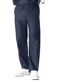 Landau Essentials Men's Elastic Waist Scrub Pants