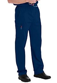 Landau Essentials Men's Cargo Scrub Pants
