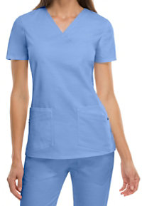 Dickies Evolution NXT Mock Wrap Scrub Tops
