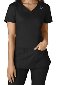 Dickies EDS Signature Stretch V-neck Scrub Tops With Certainty