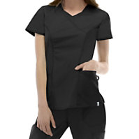 Dickies EDS Signature Stretch V-neck With Neck Insert Tops With Certainty