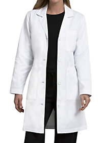 Twill 37 Inch Lab Coat with Tablet Pockets