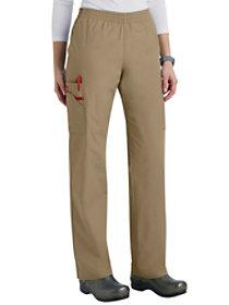 Tapered Leg Elastic Waist Cargo Pants