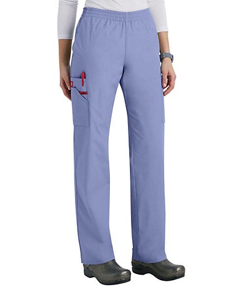 6a99c2f2526 Dickies EDS Signature Elastic Waist Cargo Scrub Pants | Scrubs & Beyond