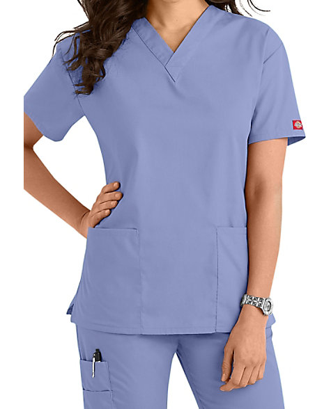 4484c6e2d6d Dickies EDS Signature V-neck Scrub Tops | Scrubs & Beyond