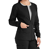 Med Couture In-Seam Zip Front Jackets