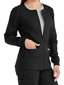 In-Seam Zip Front Warm Up Jacket
