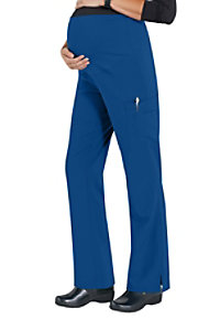 Med Couture Plus One Maternity Cargo Scrub Pants
