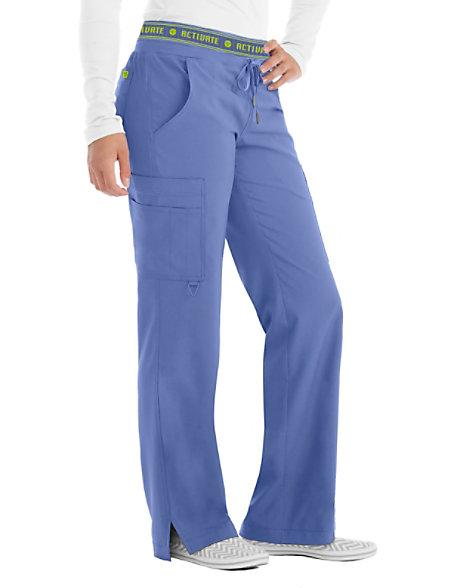 b106327cab5 Med Couture Activate Flow Logo Waist Scrub Pants   Scrubs & Beyond