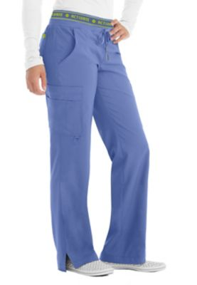 Med Couture Activate Flow Logo Waist Scrub Pants