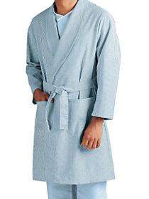 2 Pocket Striped Patient Robe