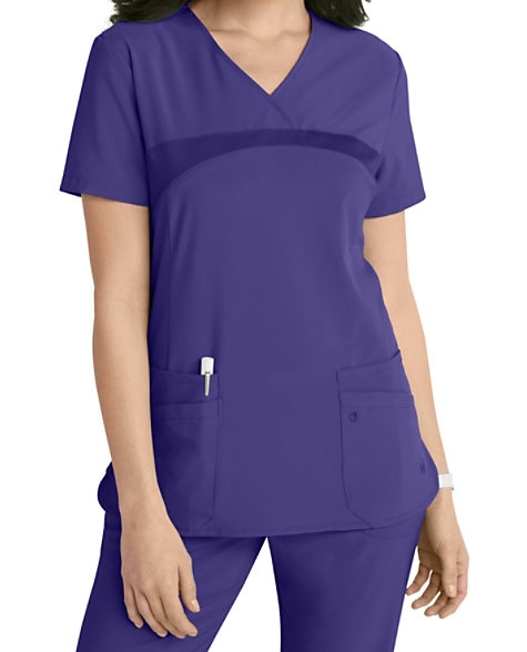 7b2490c297a Urbane Performance Media Collection Renew 4-pocket Scrub Tops | Scrubs &  Beyond