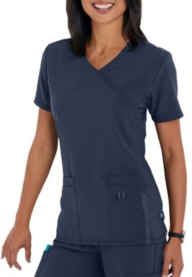 Urbane Performance Quick Cool Crossover Scrub Top