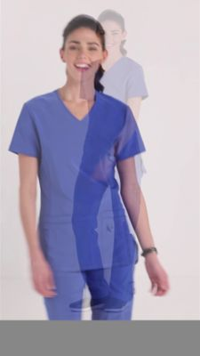 7f1ab78b4fc Product Video. prev. next. Product Video; Urbane Performance Quick Cool  Crossover Scrub Tops