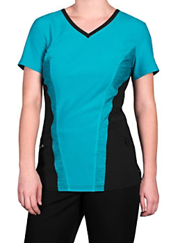 fb450919d47 Urbane Performance Media Collection Renew 4-pocket Scrub Tops ...