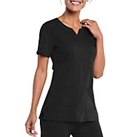 Urbane Ultimate Leah Empire Waist Notch Neck Top