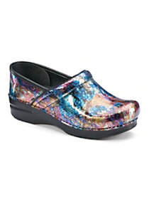 Metallic Wash Patent Nursing Clogs
