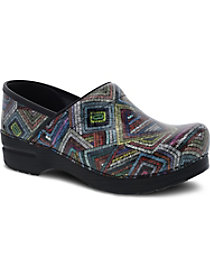 Color Maze Patent Nursing Clogs