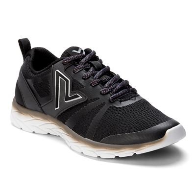 Miles Black Athletic Shoes