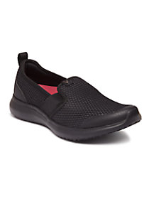 Julianna Black Slip On Athletic Shoes