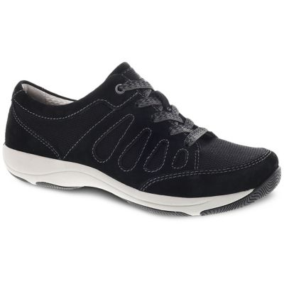 Heather Black Suede Althetic Shoes