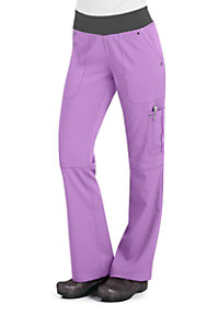 Healing Hands Purple Label Tori Yoga Scrub Pants