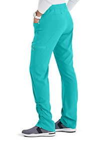 Beyond Scrubs Active Peri Ruched Hem Scrub Pants